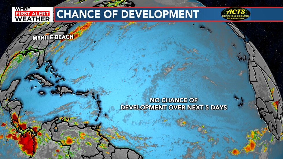 0% chance of development for the next five days. Need I say more?
