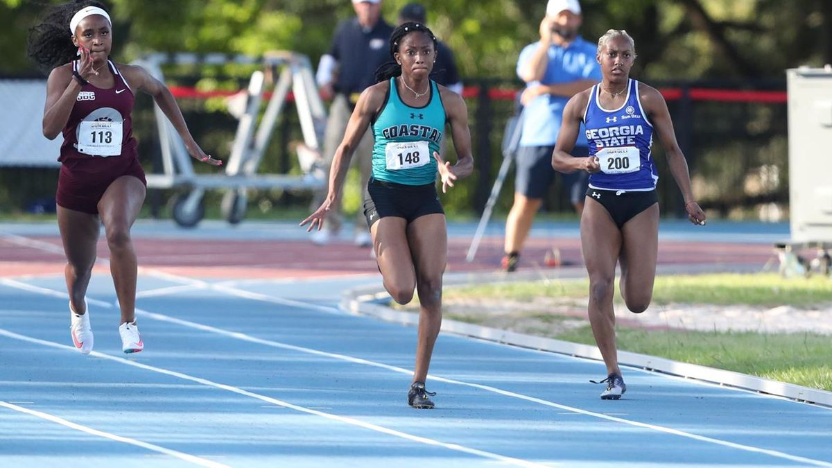 Jefferson becomes the first-ever 100-meter and third 200-meter qualifier in school history