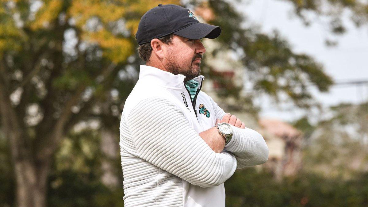 CCU head men's golf coach Jim Garren.