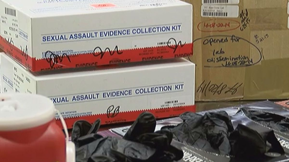 The vast majority of rape kits collected from Wilmington victims in recent years were never...