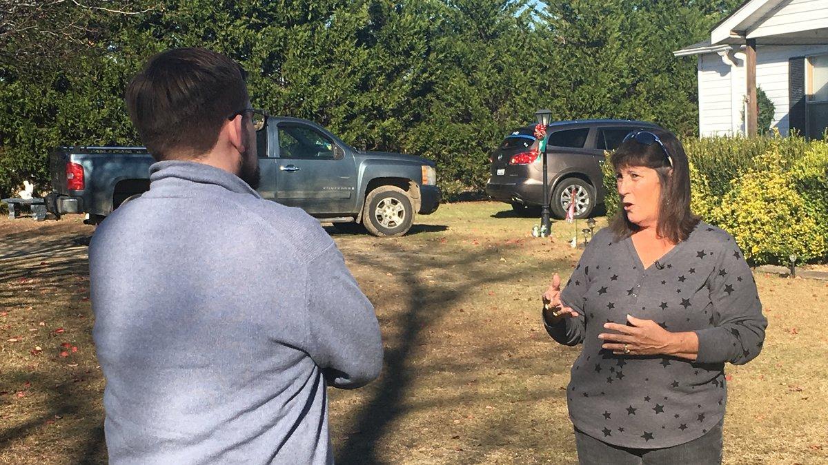 Donna Dent speaks with WBTV's chief investigative reporter Nick Ochsner regarding an affidavit...