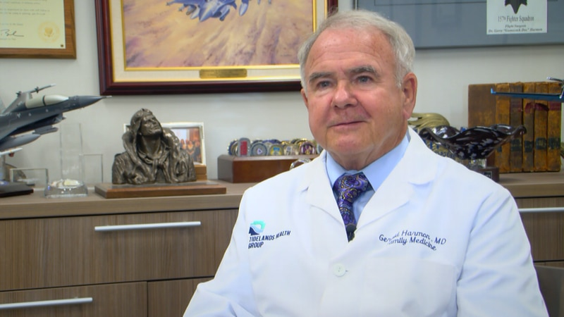 Dr. Gerald Harmon with Tidelands Health