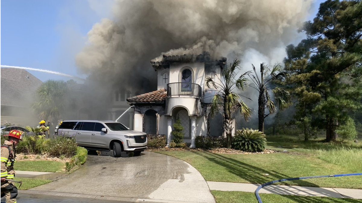Crews were called to this fire on Juxa Drive in Myrtle Beach Sunday.