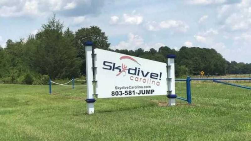 A 73-year-old man died in a skydiving accident on Saturday in South Carolina.