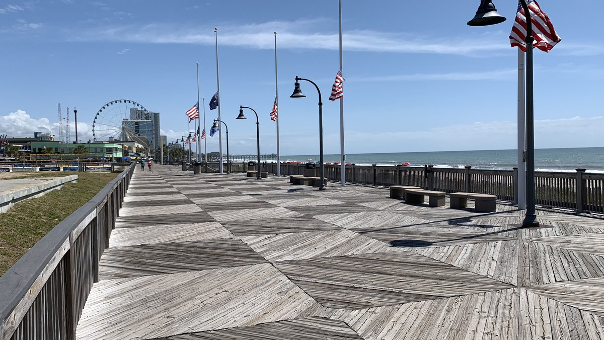 The Myrtle Beach Boardwalk officially opened 10 years ago.