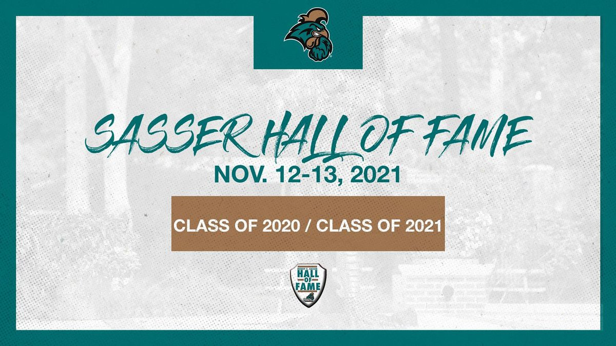 Both classes will be inducted as part of Homecoming and Hall of Fame Weekend.