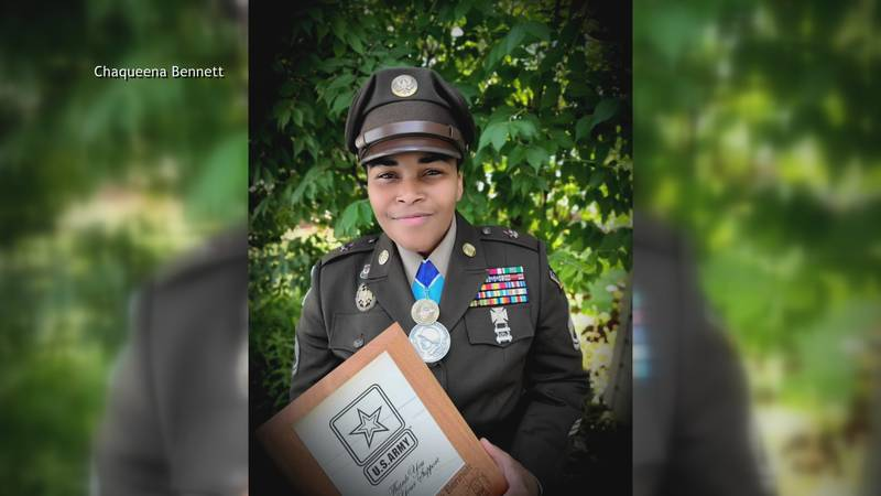Conway High graduate Sgt. First Class Chaqueena Bennett is inducted into the prestigious Sgt....