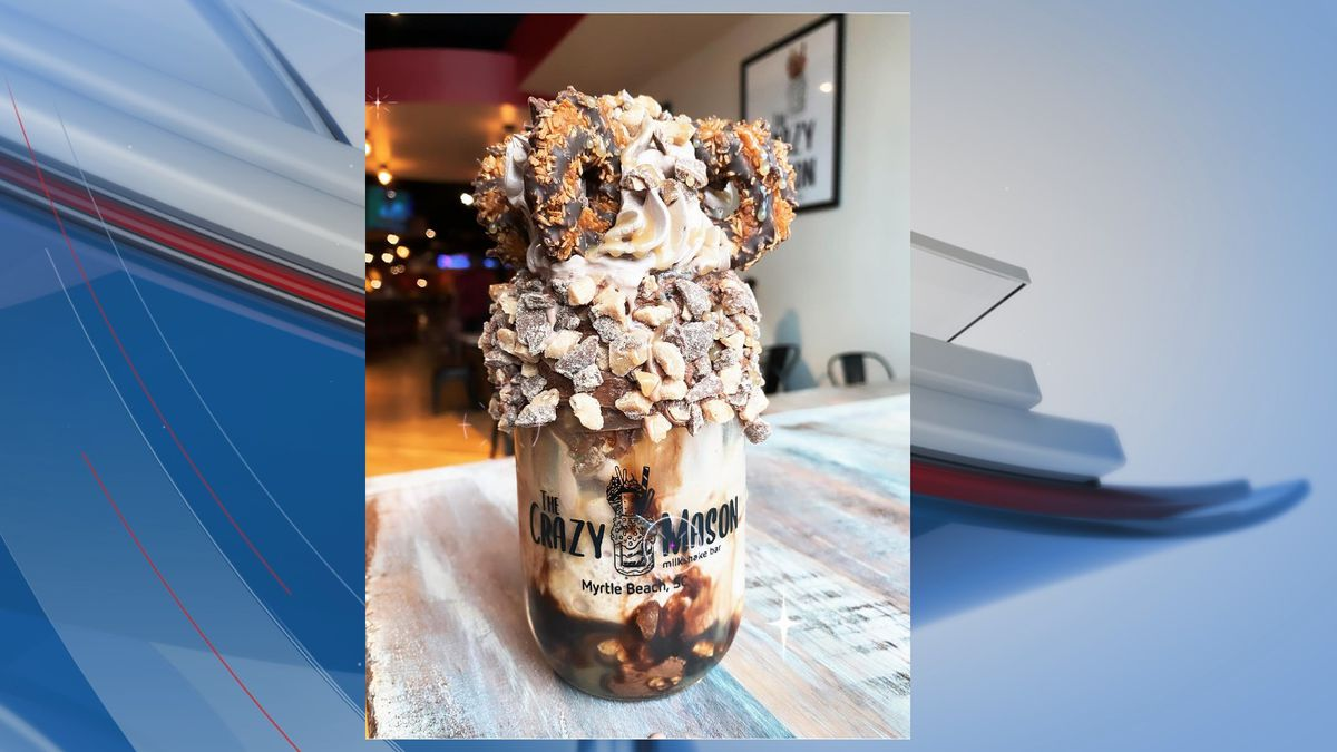 The Crazy Mason MilkShake Bar will open its second Grand Strand location this spring, according...