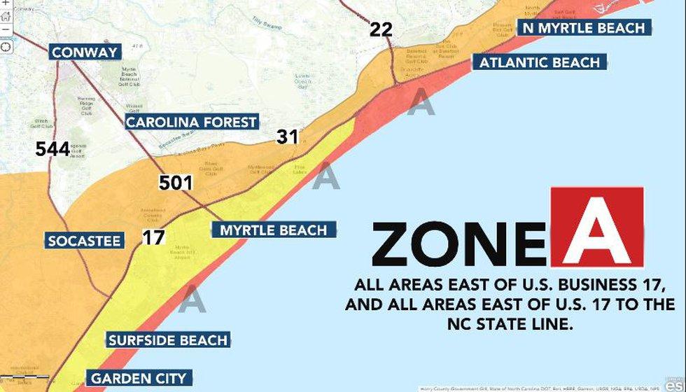 Evacuation Zone A