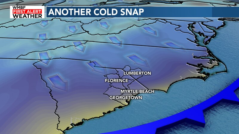 Get ready for another cold front to bring big temperature changes.