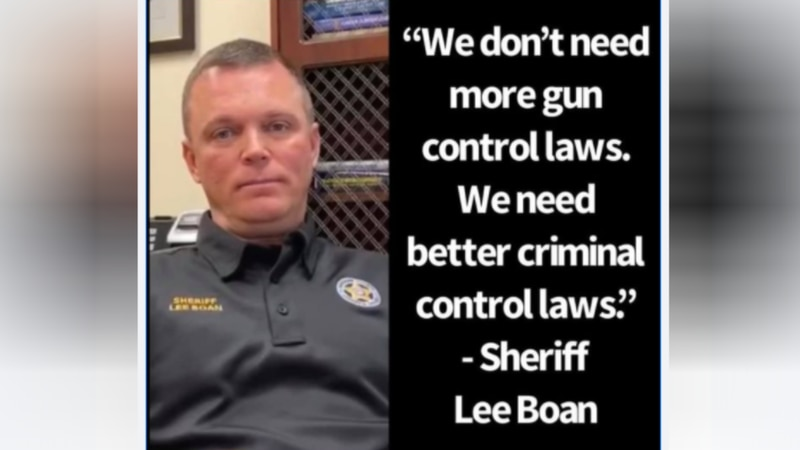Kershaw County sheriff takes strong stance against gun control laws