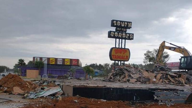 """Have you seen it? """"South of the Border"""" roadside attraction under construction"""