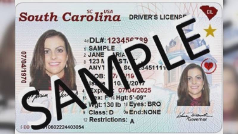 The deadline to get a Real ID is Oct. 1 but the South Carolina Department of Motor Vehicles...