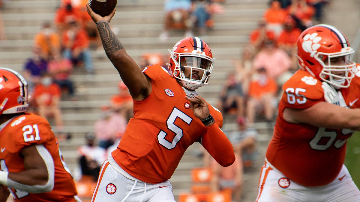 Clemson quarterback D.J. Uiagalelei agreed to a Name, Image and Likeness (NIL) deal with...