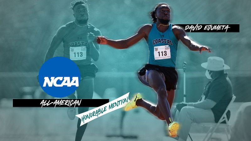 CCU's David Ejumeta receives All-American honorable mention honors