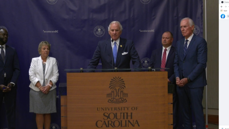 $8.8 billion in federal funds coming into SC from American Rescue Plan