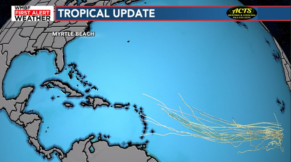 Models continue to take this low pressure system west into watch and wait territory.