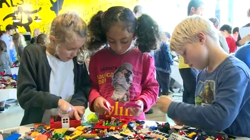The study showed 42 percent of girls said they worry about being made fun of for playing with...
