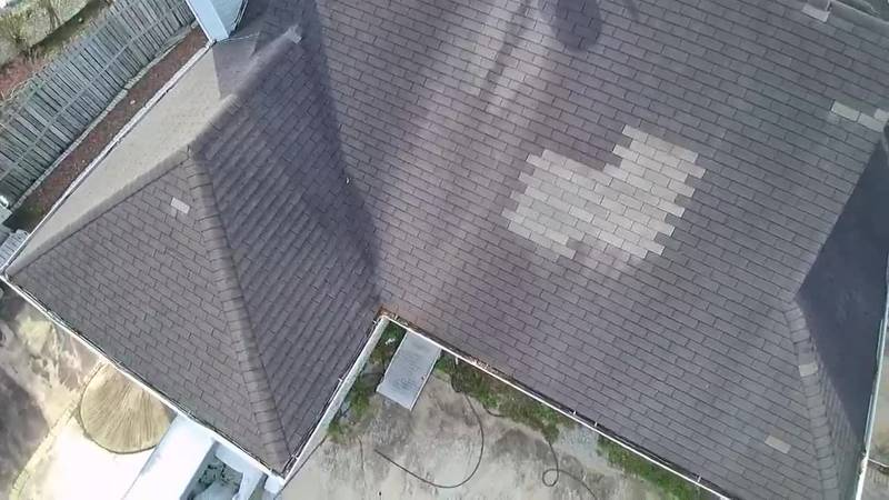 A Grand Strand veteran will receive a new roof.