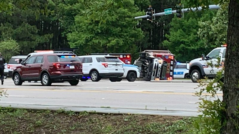 An ambulance was involved in a crash Monday in Myrtle Beach, police said.