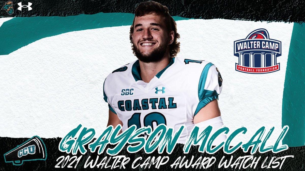 CCU QB Grayson McCall.