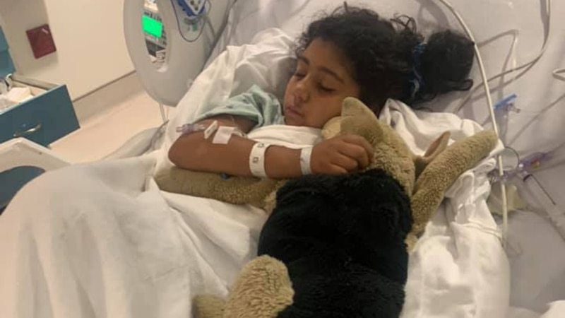 A 9-year-old girl is recovering after deputies said she was shot over the weekend in Pembroke