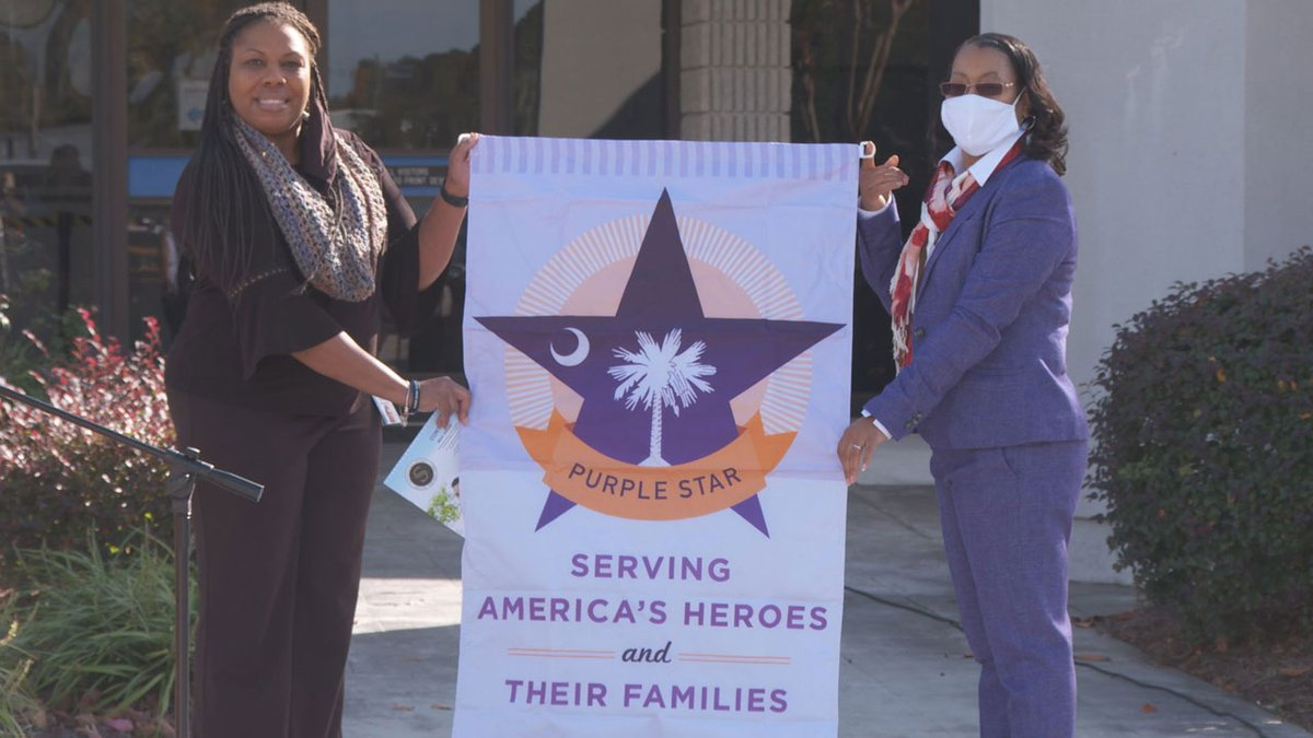The Sumter School District became a Purple Star school district this week.