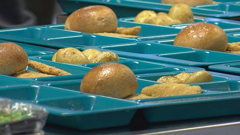 National supply chain issues may start hitting the lunch trays for Horry County Schools students.