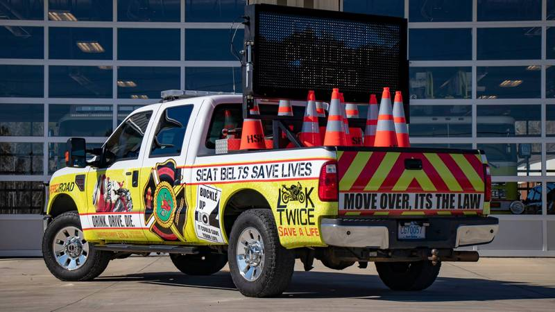 """Howe Springs Fire Rescue unveils """"Highway Safety Unit"""" (Source: Howe Springs Fire Rescue on..."""