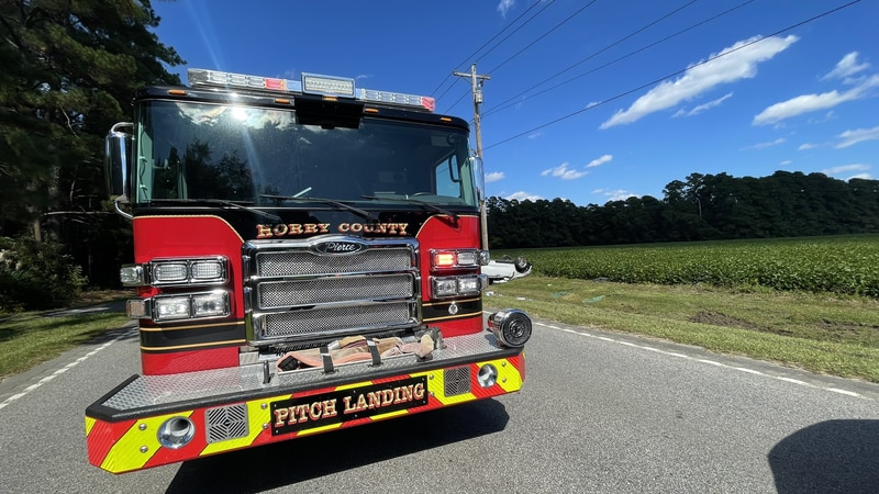Horry County Fire Rescue said crews were called to the area of Highway 701 at Brickyard Place...