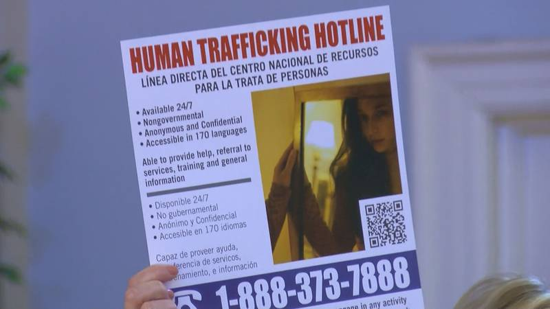 Horry County ranks top in the state for the highest number of reported human trafficking cases.
