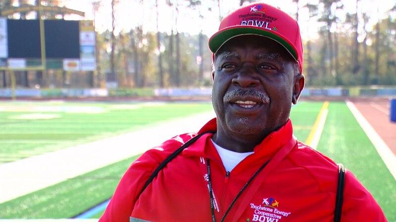 "Legendary high school football head coach James ""Nate"" Thompson"