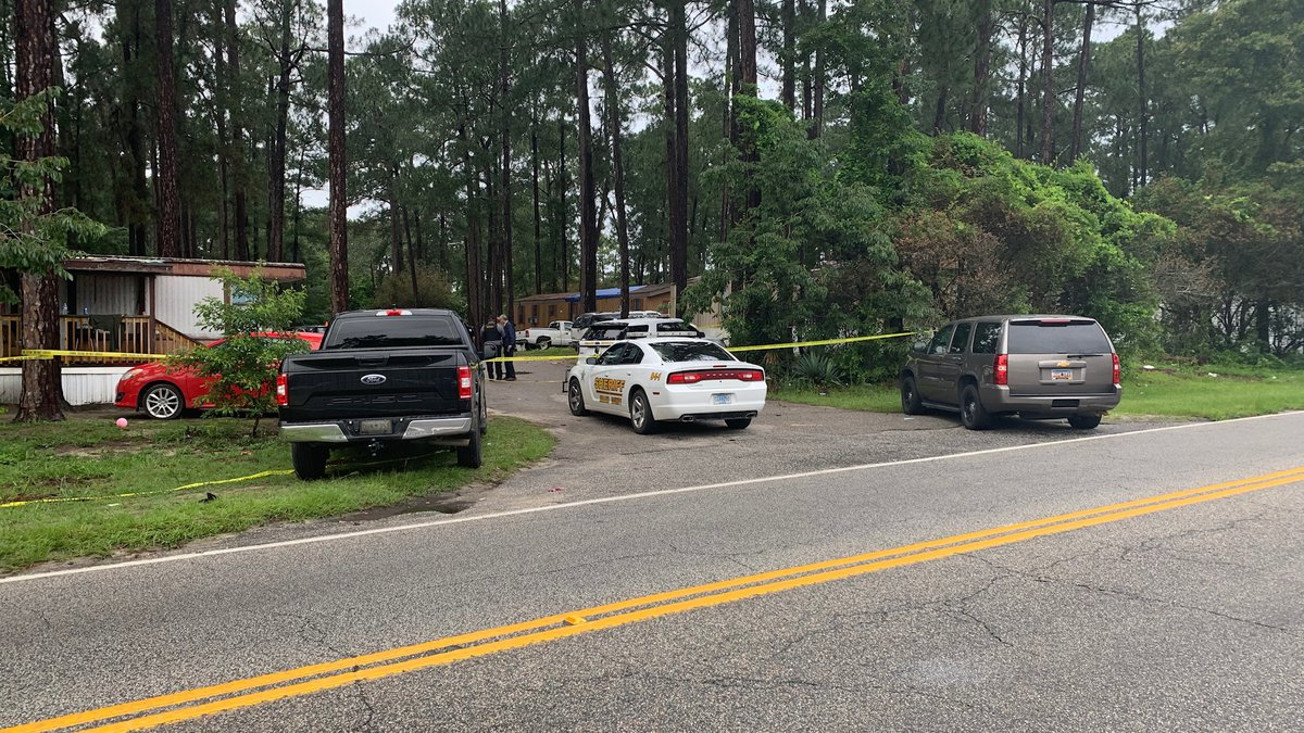 """Authorities are investigating a """"deadly situation"""" at a mobile home park in Dillon County,..."""