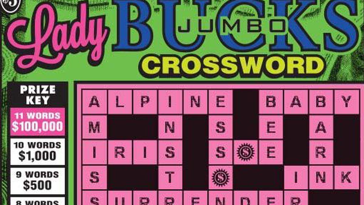 Lady Jumbo Bucks Crossword