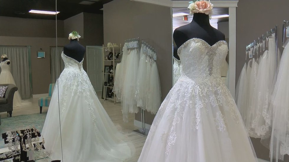 Only a select bridal stores across the country participate in the National Bridal Sale Event.