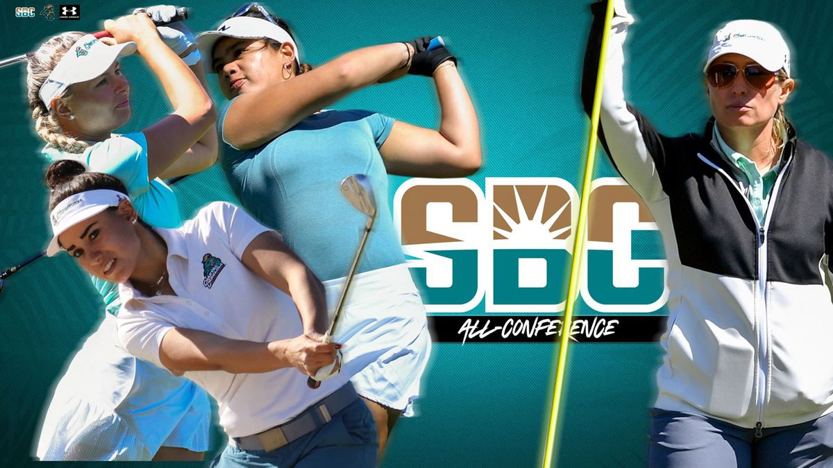 Nicole Abelar was named the 2021 Sun Belt Conference Freshman of the Year while head coach...