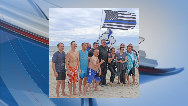 The Georgetown County Sheriff's Office hosted its first Polar Plunge at Litchfield Beach on...