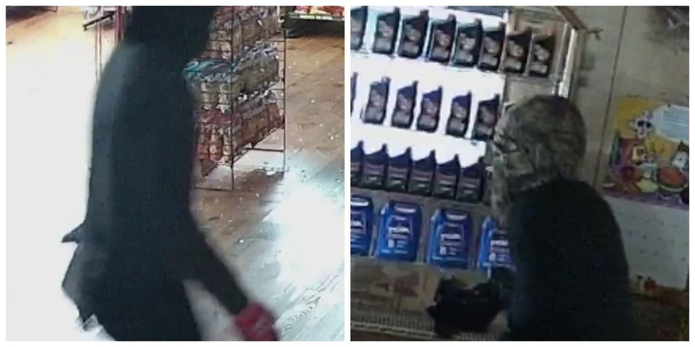 Deputies are searching for two suspects wanted for several burglaries in Marion County.