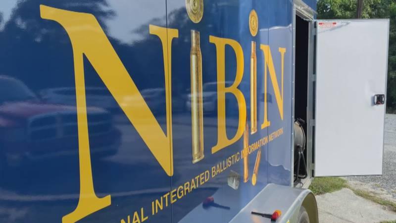 NIBIN trailer