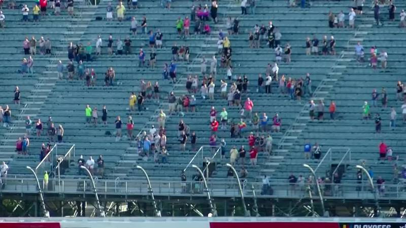 Fans return to Darlington Raceway for the Southern 500