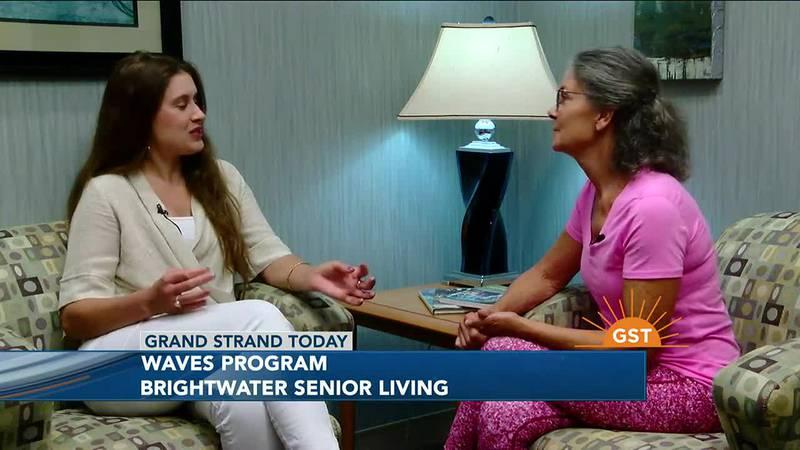 Waves program at Brightwater Senior Living