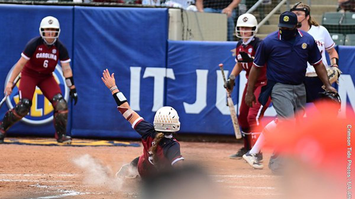 Kenzi Maguire continued to shine against SEC competition as she produced a 2-for-2 afternoon...