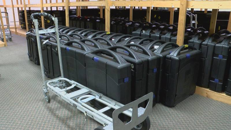 Roughly 700 of Horry County's voting machines will be sent off to be replaced.