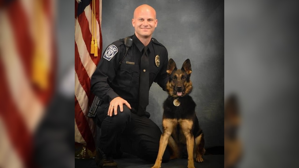 The North Myrtle Beach Fire Department announced its explosives detection K-9, LoeLoe, passed...