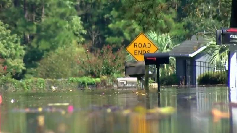 Socastee residents deal with flooding issues
