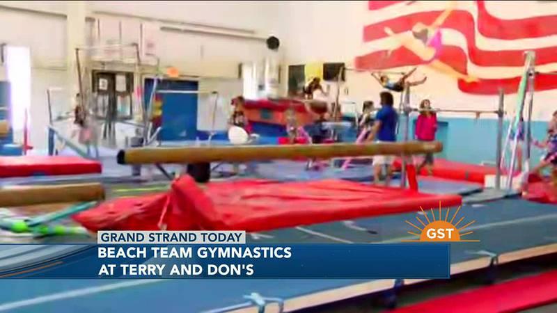 Beach Team Gymnastics - Part 2