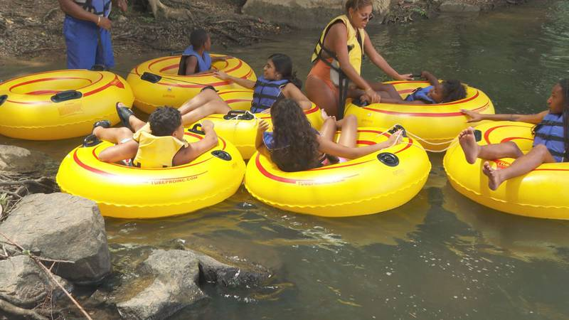 Regardless of your swimming expertise, officials say everyone should wear a life jacket on the...