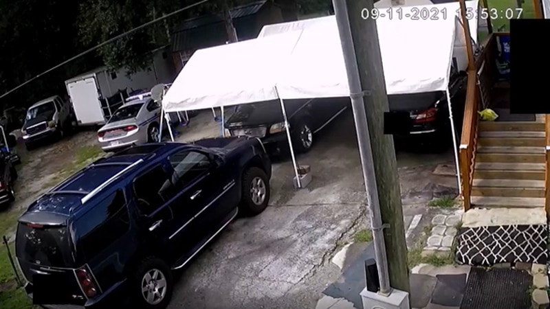 The 15th Circuit Solicitor's Office released surveillance video of the trooper-involved...
