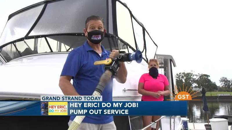 Hey Eric Do My Job! Cleaning Boat Bathrooms Part 1
