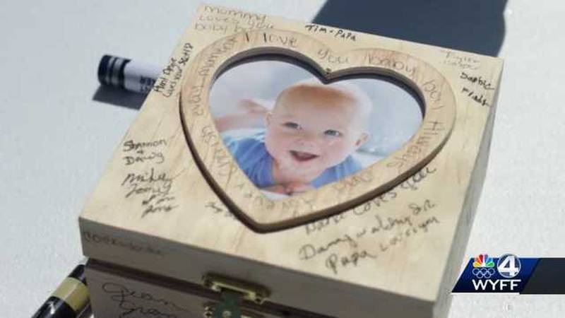 An Upstate community came together Sunday afternoon to support a 4-year-old who is terminally...